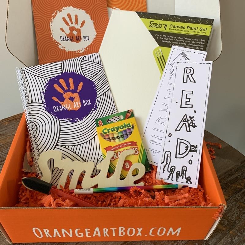 orange art box review