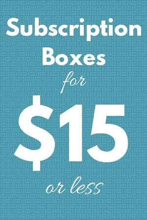 boxes for 15 or less