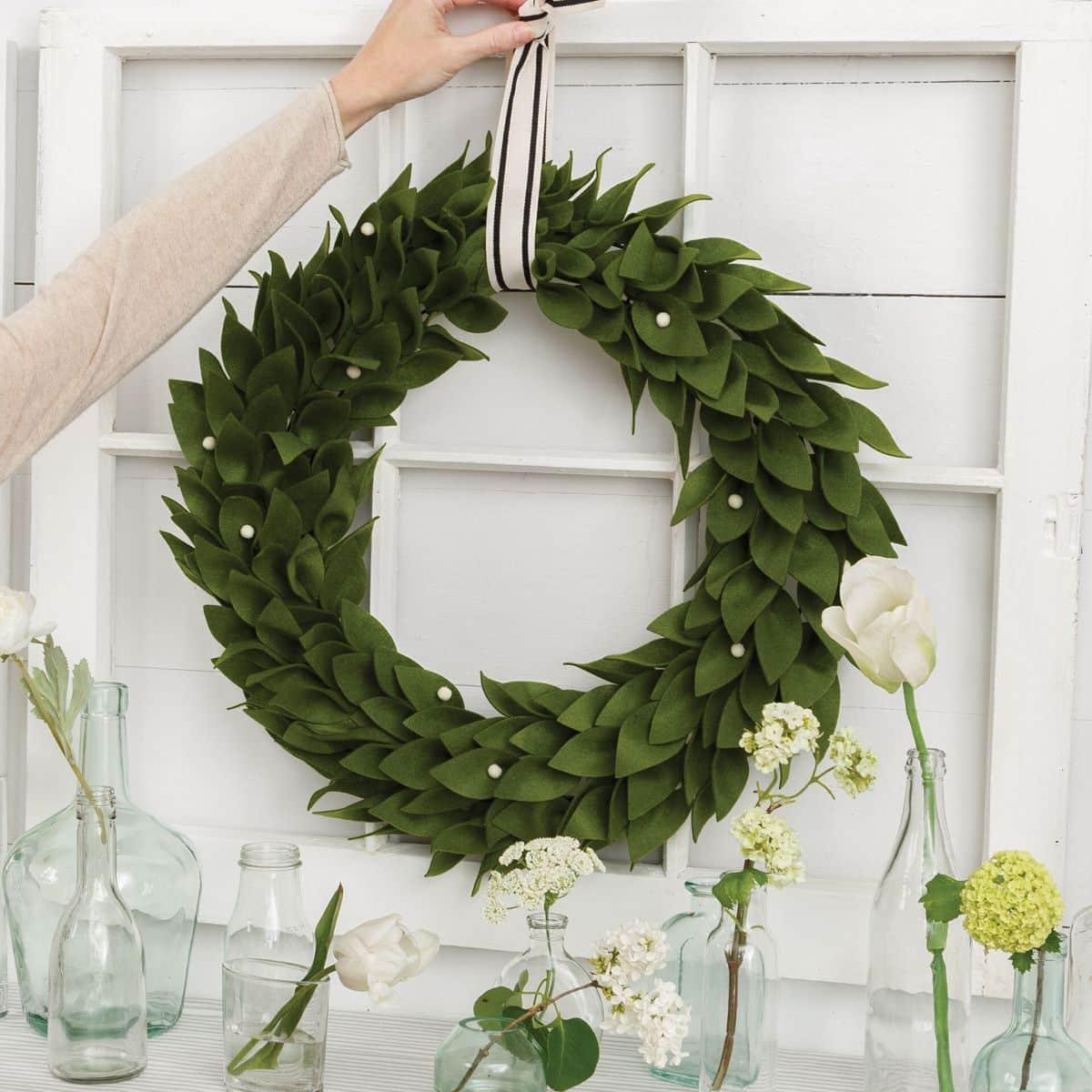 annies farmhouse kit club wreath