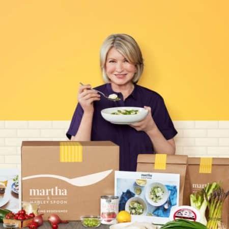 Martha and Marley Spoon Subscription Box